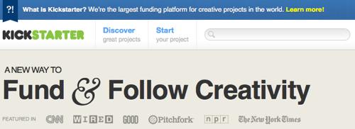 Finanziare Progetti Creativi