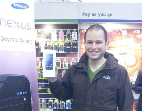 Alex Ioannou Samsung Galaxy Nexus